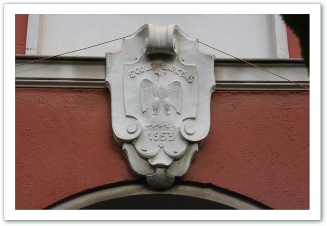 blason collège 1953
